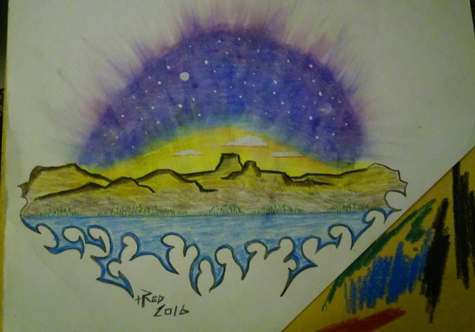 Stars in a Desert Sky